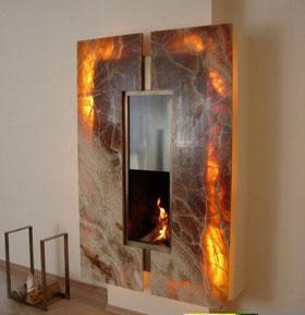 Мраморные и экзотические порталы для каминов