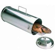 коптильня для рыбы цилиндрическая из нержавеющей стали