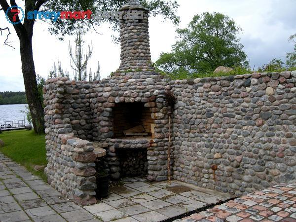 Фото каминов из кирпича для дома