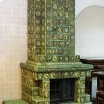 специальная огнестойкая плитка для украшения каминов