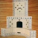 изразцы и плитка для облицовки печи камина