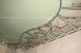 монтаж направляющих на потолок