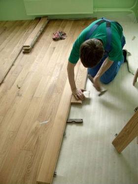 как сделать ремонт старого деревянного пола своими руками