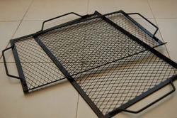 для биокамина решетку можно сделать из гриля