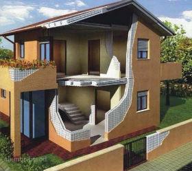при строительстве дома из дерева вы можете сделать свободную планировку