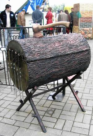 Как сделать мангал своими руками из металла чертежи фото фото 947