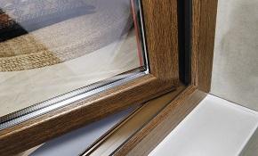 О пластиковых окнах коричневого цвета