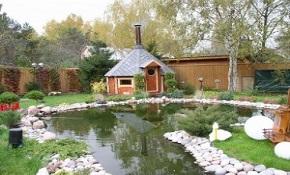 Садовые домики и грили для гурманов