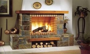 Стили и дизайн каминов — лики огня