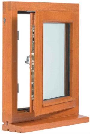 в баню или деревянный дом лучше устанавливать окна под цвет древесины