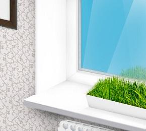 Преимущества установки оконных откосов на пластиковые окна и на деревянные