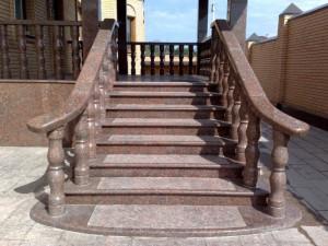 Гранитные лестницы и другие изделия