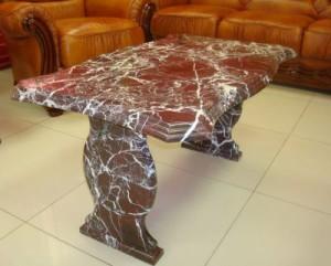 журнальный стол из мрамора