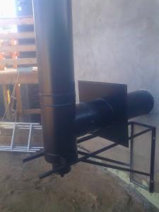 Крепление дымохода на кронштейн