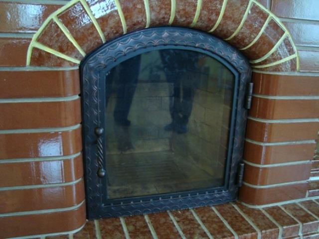 Дверка каминная со стеклом своими руками