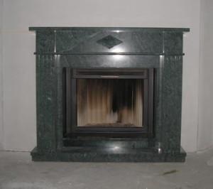 Мраморный каминный портал