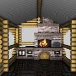 печной комплекс 3д проект