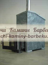 Печь с каминной дверцей