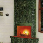 красивая огнеупорная плитка для украшения камина
