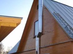 Установка дымохода в деревянном доме: основные принципы